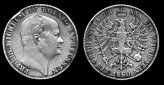Silver Coin of Frederick William IV, struck 1860.