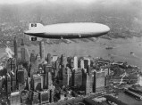 Hindenburg over New York City.