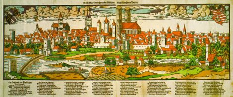 Munich in the 16th century.