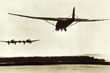 He 111Z towing a Me 321 glider.