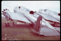 Unfinished Polish bombers, Okezie military airport, near Warsaw during the German invasion of Poland.
