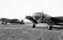 Heinkel He 111H in the Romanian Air Force.