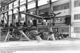 Two Junkers Ju 87 Ds near completion.