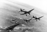 Ju 87 D's over the Eastern Front, winter 1943-44.
