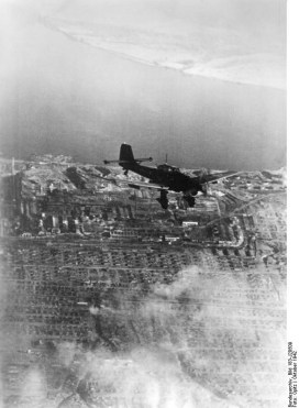 Junkers Ju 87 B during the Battle of Stalingrad.