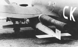 He 111 H-16 with a V-1 flying bomb, 8 August 1944.
