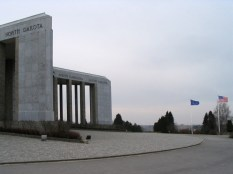 The Mardasson Memorial near Bastogne, Belgium.
