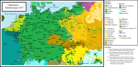 The context of German-speaking Europe circa 1937.