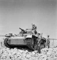 Ausf.G, captured by the British in North Africa, 1941.