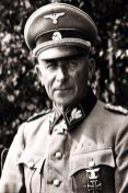 Paul Hausser here as SS brigade leader and major general of the Waffen-SS.