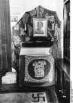 Memory corner of Hermann Goering for his deceased wife Carin in his Berlin apartment.