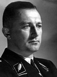 SS-Standartenführer Dr. Franz Hayler, head of the Reichsgruppe Handel, 1939.