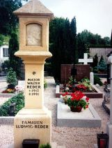 Walter Reder's tomb.