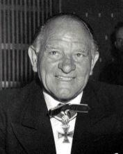 Sepp Dietrich in the post-war period.