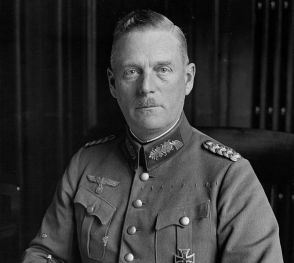 Wilhelm Keitel as the newly appointed Chief of the Wehrmacht Office in the Reich Ministry of War, October 1935.