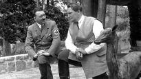 Adolf Hitler with Hermann Goering.