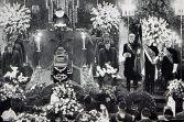 Dr. Karl Mauss' funeral.