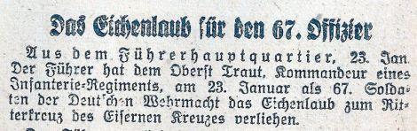 Wetzlarer scoreboard 24.1.1942.