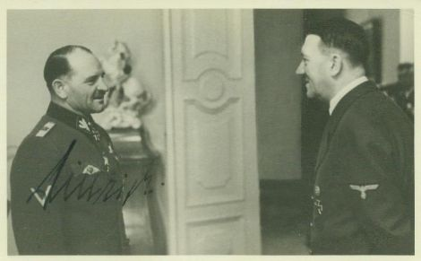 Dietrich and the Fuhrer.