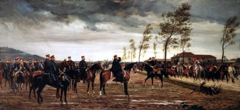 Surrender of Metz.