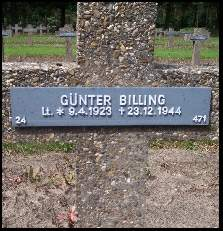 The grave of Günter Billing.