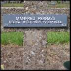 Manfred Pernass's grave.