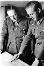 Hans Hube (left) and Walther Wenck (right).