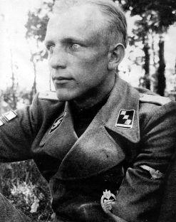 SS Obersturmführer Hermann Bolte.