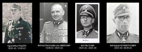 """Commanders of """"Prinz Eugen""""."""