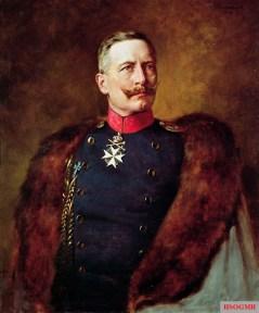 Portrait of Wilhelm II in 1909, by Bruno Heinrich Strassberger.