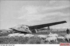 Gotha Go 242 in Grosseto, 1943.