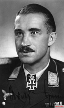 Adolf Galland, the architect of Donnerkeil.