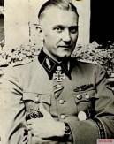 Oak leaf bearer SS-Standartenführer Hugo Kraas.