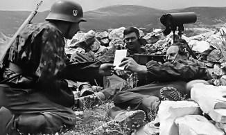"Men of the 7th SS Volunteer Mountain Division ""Prinz Eugen""."