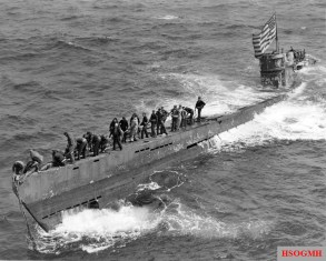 U-505 shortly after being captured.