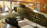 "The ""Knowlton"" Fokker D.VII with late-1918 Balkenkreuz on fuselage."