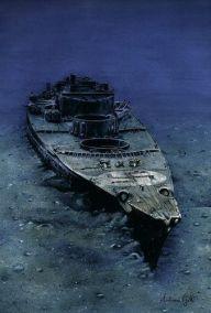 Bismarck painting.