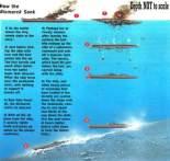 How the Bismarck sank.
