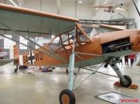 An Fi 156 displayed in the Deutsches Museum Flugwerft Schleissheim.