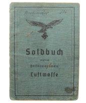 Luftwaffe Soldbuch.