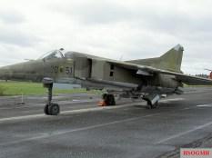 Mikoyan-Gurevich MiG-23 BN 20–51, ex 710.