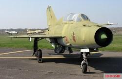 Mikoyan-Gurevich MiG-21 UM 23–77, ex 256.