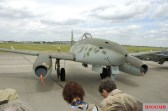 Reproduction of a Messerschmitt Me 262 (A-1c) at the Berlin Air Show 2006.