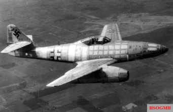 This airframe, Wrknr. 111711, was the first Me 262 to come into Allied hands when its German test pilot defected on March 31, 1945. The aircraft was then shipped to the United States for testing.