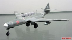 Scale model of one of the Me 262 HG III versions at the Technikmuseum Speyer.