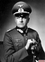 Von Brauchitsch with officer's sword.