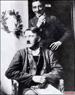 "Adolf Hitler and Emil ""Moritzl"" Maurice imprisoned in Landsberg."
