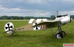 Fokker monoplane III (E.III), modern, full-flight replica.