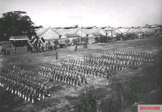 The Beiyang Army in training.