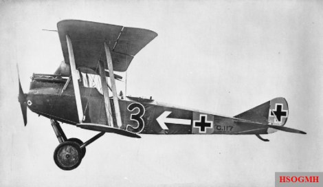 Rumpler C.VII G.117.